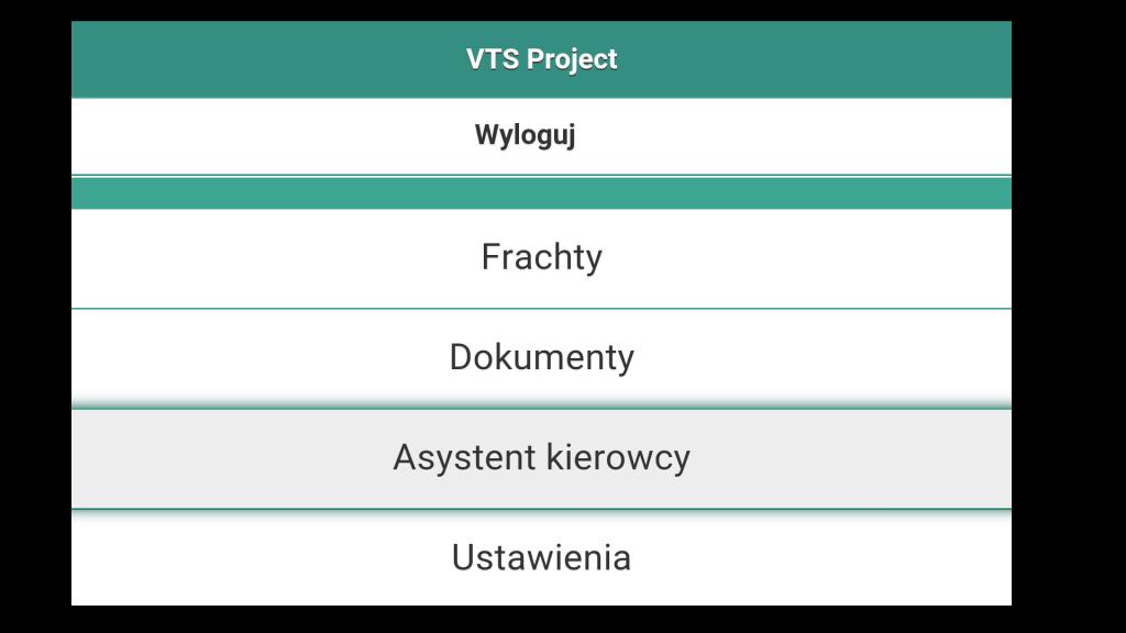 VTS Project – asystent kierowcy