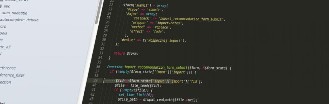 Drupal i import danych z pliku XML zawierającego kilkadziesiąt tysięcy rekordów? Czyli z serii – jak stworzyć własny moduł do… Część I.