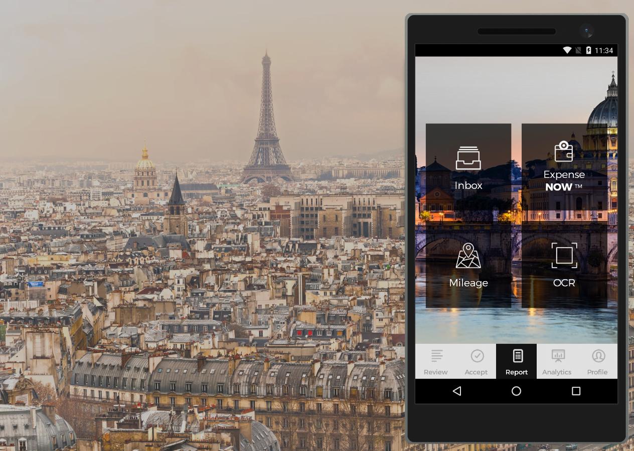 Aplikacja mobilna Maya Expense dla firmy iAlbatros