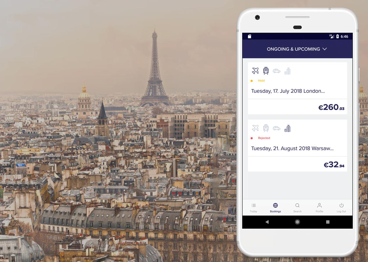 Aplikacja mobilna Rydoo Travel dla firmy iAlbatros